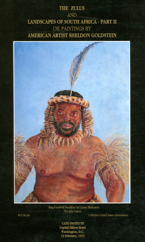The Zulus and Landscapes of South Africa - Part II - Oil Paintings by American Artist Sheldon Goldstein. Sheldon Goldstein.