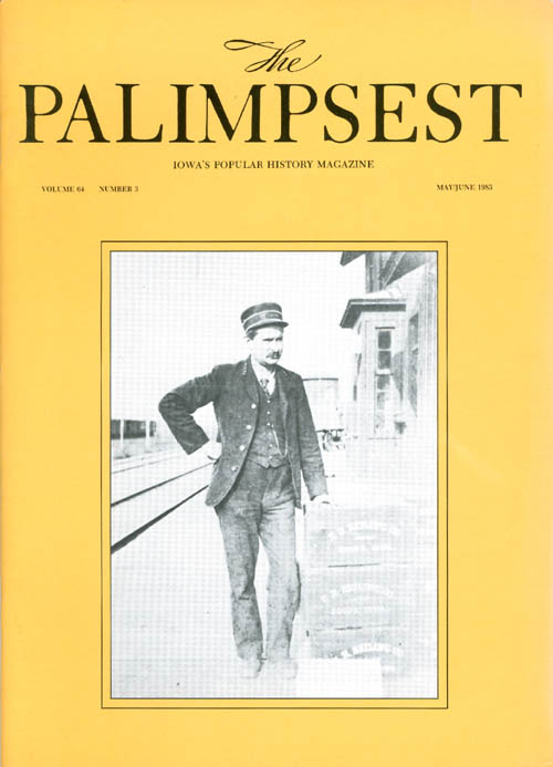 The Palimpsest - Volume 64 Number 3 - May-June 1983. Mary K. Fredericksen.