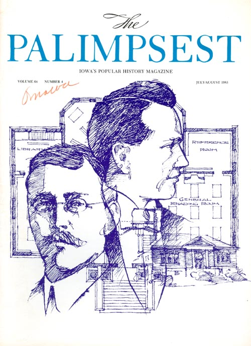 The Palimpsest - Volume 64 Number 4 - July-August 1983. Mary K. Fredericksen.