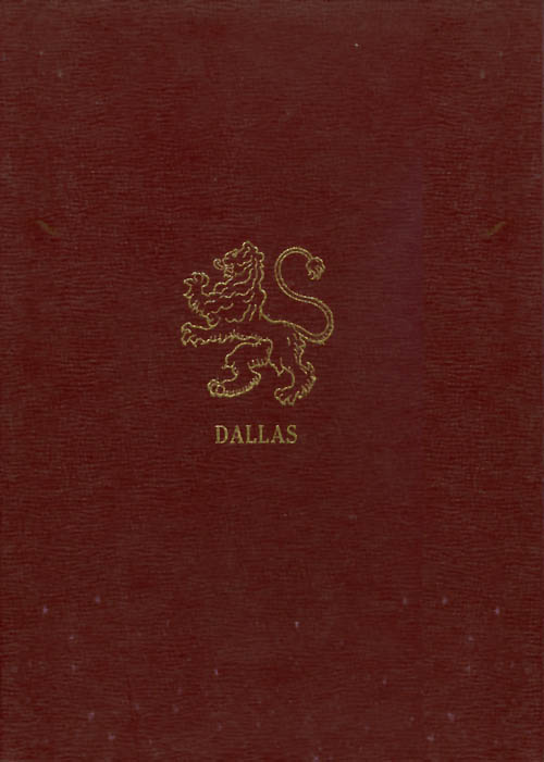 The Amazing Story of the Dallases in America. Sharon Taylor.