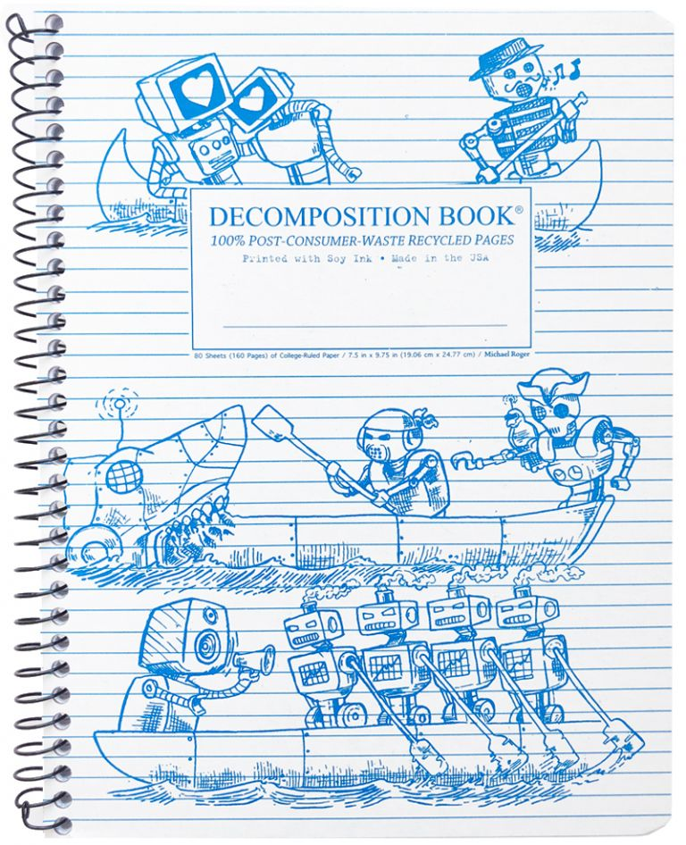 Rowbots (College-ruled notebook)