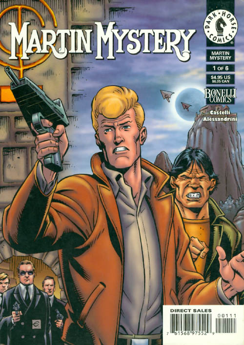 Martin Mystery #1 : Destroyers of the Past. Castelli Alessandrini.