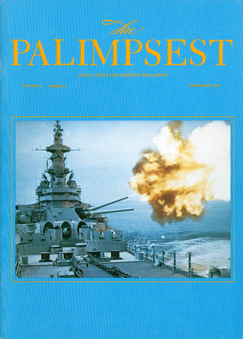 The Palimpsest - Volume 64 Number 2 - March April 1983. Mary K. Fredericksen.
