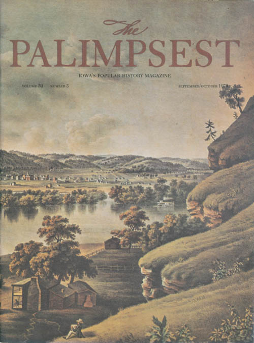 The Palimpsest - Volume 59 Number 5 - September/October 1978. Charles Phillips.