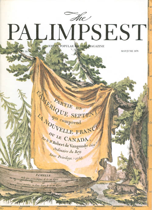 The Palimpsest - Volume 59 Number 3 - May/June 1978. Charles Phillips.