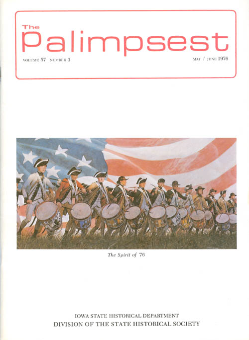 The Palimpsest - Volume 57 Number 3 - May/June 1976. L. Edward Purcell.