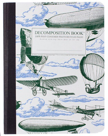 Airships (College-ruled notebook)