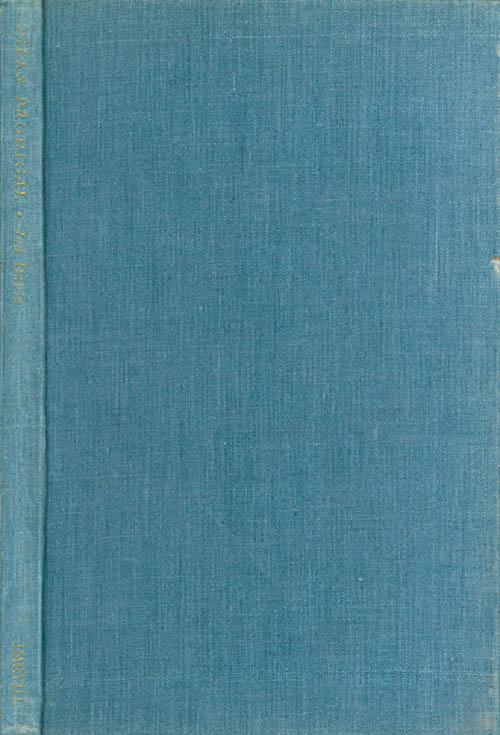 Piers Prodigal and other poems. Ian Davie, Siegfried Sassoon, foreword.
