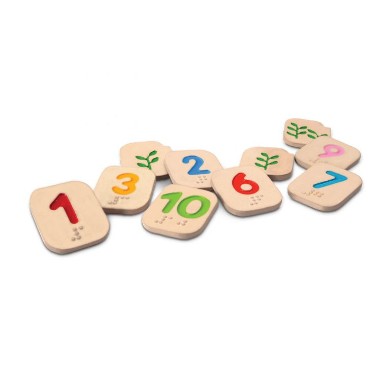 Braille Numbers 1 - 10