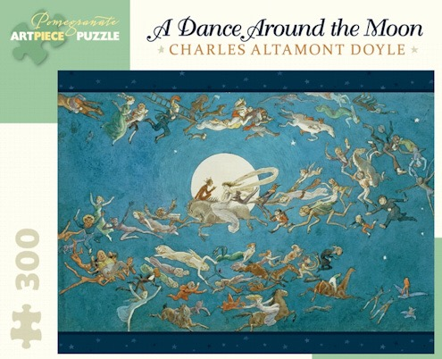 A Dance Around the Moon. Charles Altamont Doyle.