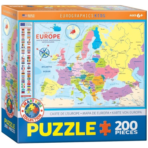Map of Europe (Smart Kids Collection)