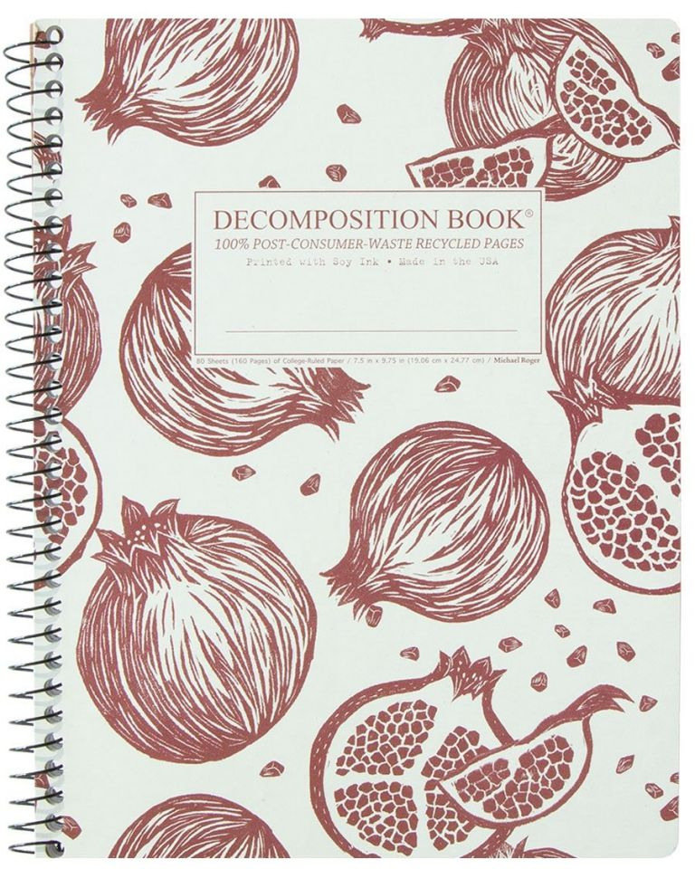Pomegranates (College-ruled notebook)