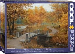 Autumn in an Old Park