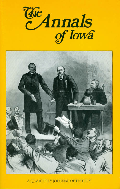 The Annals of Iowa : Volume 48, Numbers 7, 8: Winter/Spring 1987. Christie Dailey.