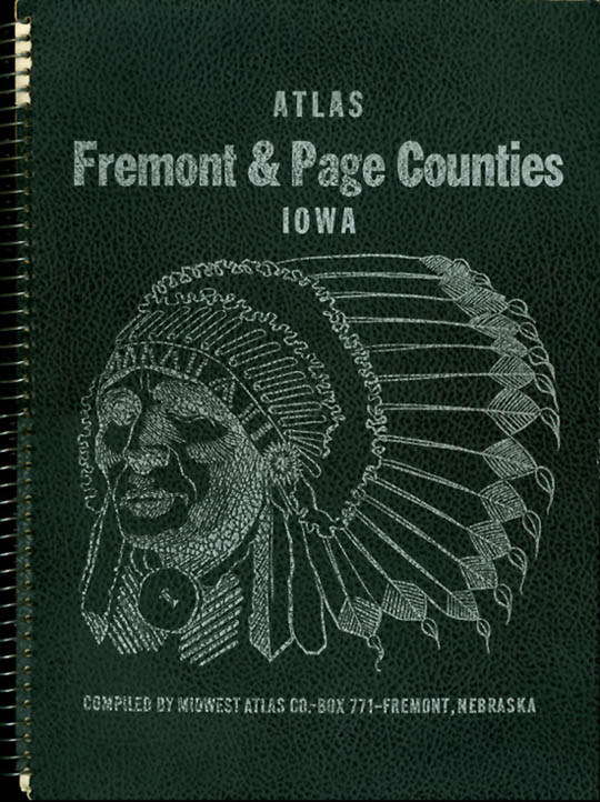 Atlas of Fremont and Page Counties, Iowa. Midwest Atlas Co.
