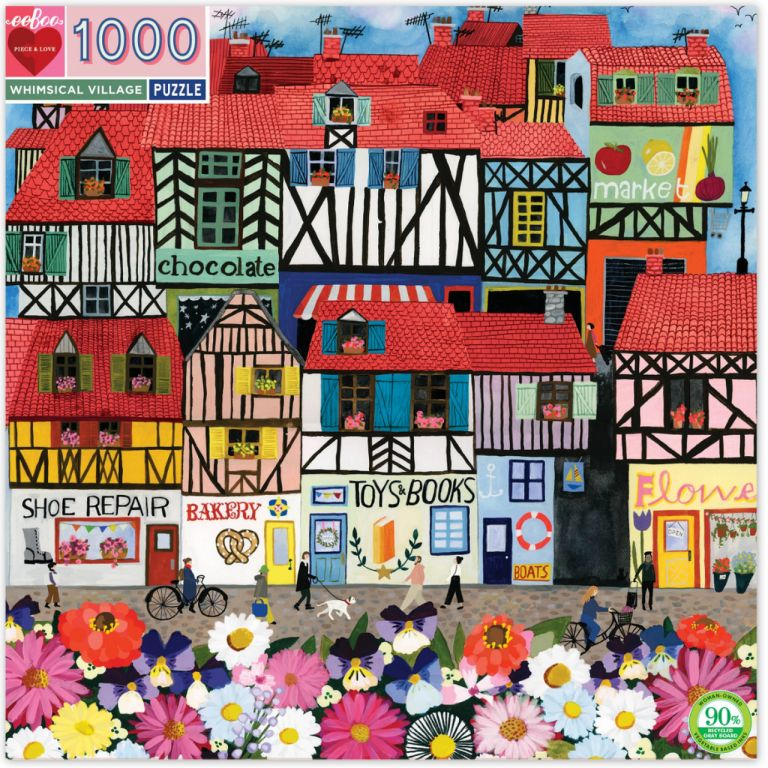 Whimsical Village. Anisa Makhoul.