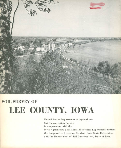 Soil Survey of Lee County, Iowa. United States Department of Agriculture.
