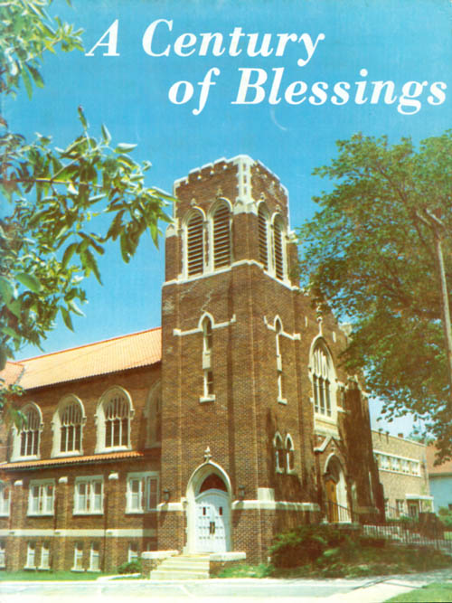 A Century of Blessings: Zion Lutheran Church, Denison, Iowa, 1872 - 1972.