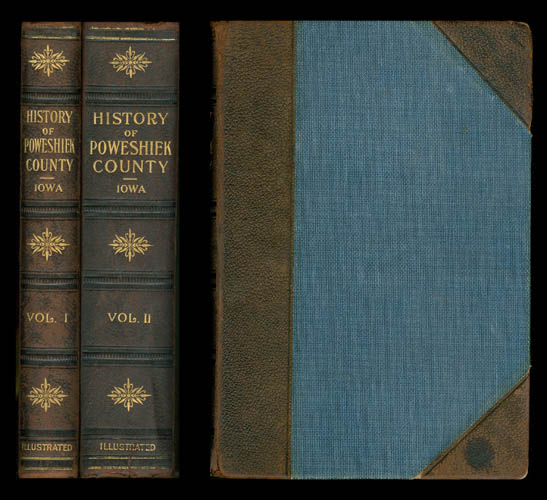 History of Poweshiek County, Iowa: Record of Settlement, Organizations, Progress and Achievement (Two volume set). L. F. Parker.
