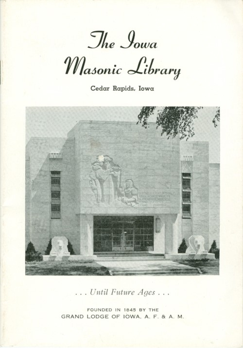 The Iowa Masonic Library, Museum, and Administration Building. Anonymous.