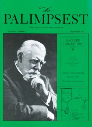 The Palimpsest - Volume 66 Number 2 - March-April 1985. Mary K. Fredericksen
