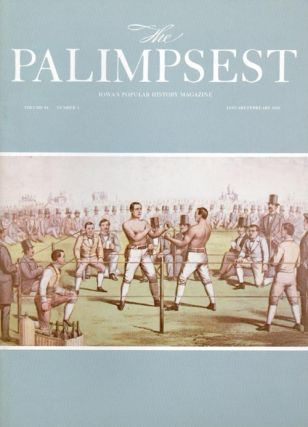 The Palimpsest - Volume 64 Number 1 - January-February 1983. Mary K. Fredericksen