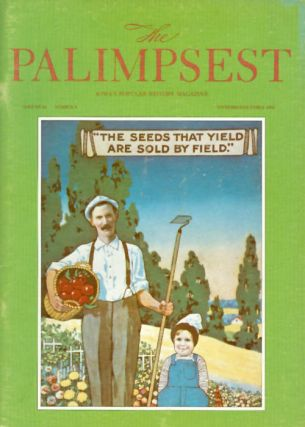The Palimpsest - Volume 64 Number 5 - September-October 1983. Mary K. Fredericksen