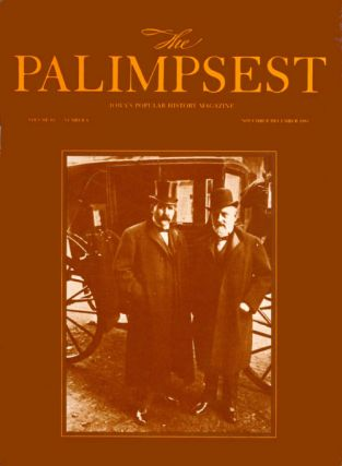 The Palimpsest - Volume 64 Number 6 - November-December 1983. Mary K. Fredericksen