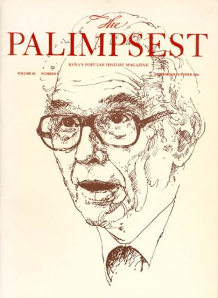 The Palimpsest - Volume 65 Number 5 - September-October 1984. Mary K. Fredericksen