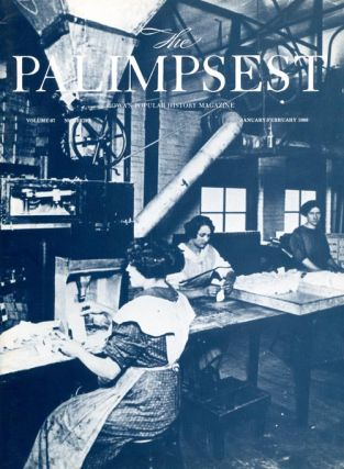 The Palimpsest - Volume 67 Number 1 - January-February 1986. Mary K. Fredericksen