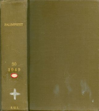 The Palimpsest - Volume XXX - January to December 1949. William J. Petersen