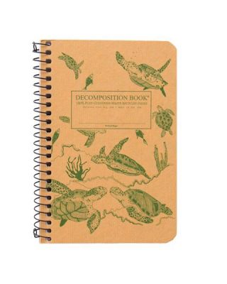 Green Sea Turtles (College-ruled pocket notebook