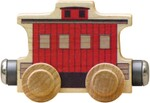 Name Train: Classic Red Caboose