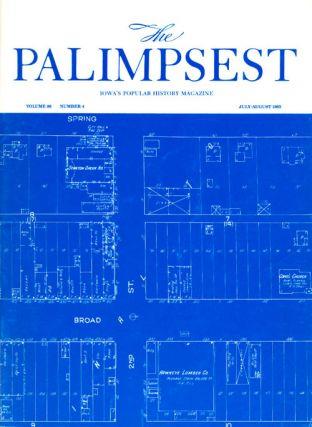 The Palimpsest - Volume 66 Number 4 - July August 1985. Mary K. Fredericksen