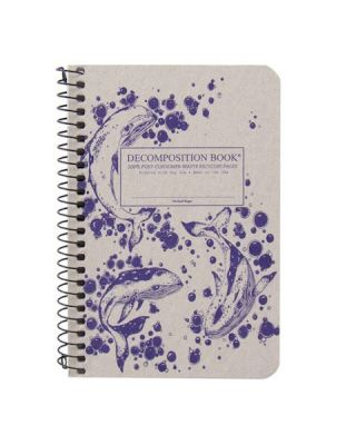 Humpback Whales (College-ruled pocket notebook