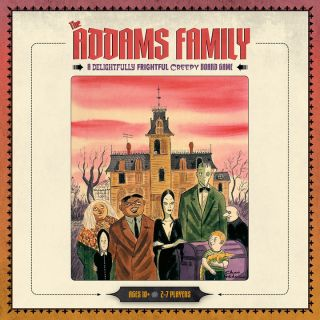 Addams Family: A Delightfully Frightful Creepy Board Game