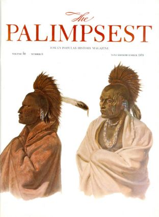 The Palimpsest - Volume 60 Number 6 - November/December 1979. Charles Phillips