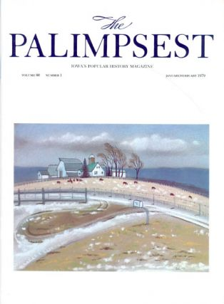 The Palimpsest - Volume 60 Number 1 - January/February 1979. Charles Phillips