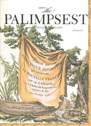 The Palimpsest - Volume 59 Number 3 - May/June 1978. Charles Phillips