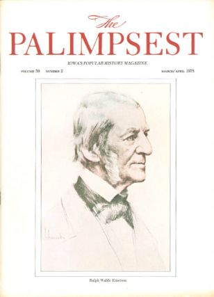 The Palimpsest - Volume 59 Number 2 - March/April 1978. Charles Phillips