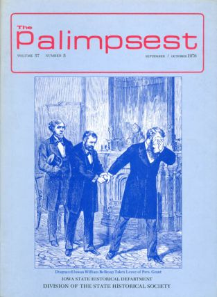 The Palimpsest - Volume 57 Number 5 - September/October 1976. L. Edward Purcell
