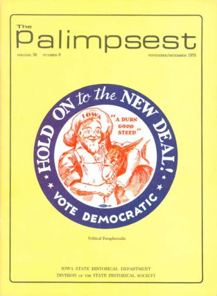 The Palimpsest - Volume 56 Number 6 - November/December 1975. L. Edward Purcell