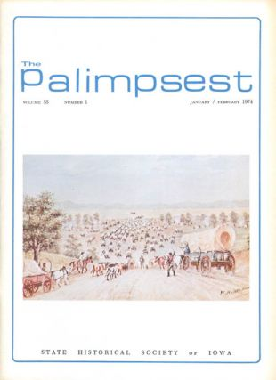 The Palimpsest - Volume 55 Number 1 - January/February 1974. L. Edward Purcell