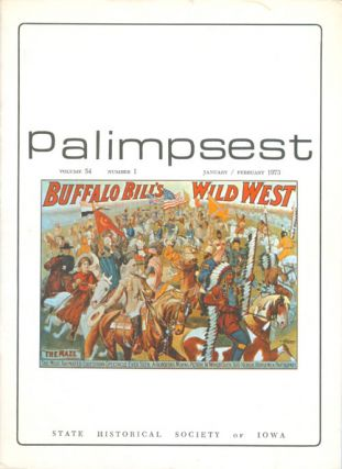 The Palimpsest - Volume 54 Number 1 - January/February 1973. Peter T. Harstad, L. Edward Purcell