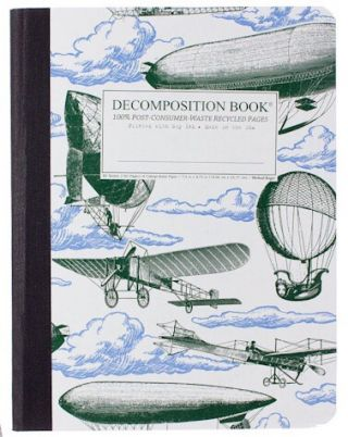 Airships (College-ruled notebook