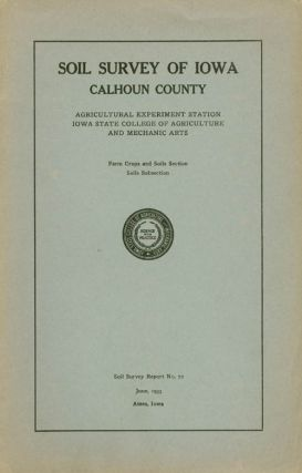 Soil Survey of Iowa: Calhoun County (Soil Survey Report No. 72). P. E. Brown, T H. Benton
