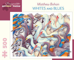 Whites and Blues. Matthew Bohan