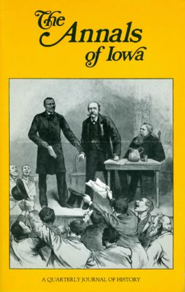 The Annals of Iowa : Volume 48, Numbers 7, 8: Winter/Spring 1987. Christie Dailey