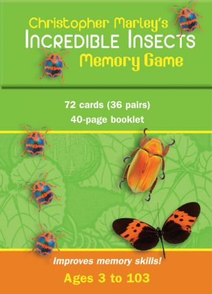 Incredible Insects Memory Game. Christopher Marley