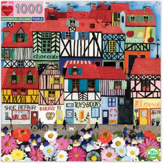 Whimsical Village. Anisa Makhoul